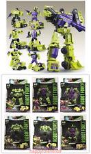 WJ Transformers Hercules DEVASTATOR 6 In 1 Engineering Car Action Figure KO