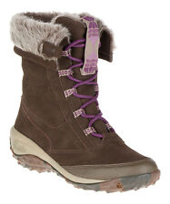 New Women's Cushe Waterproof Allpine Cone Suede Boots Shoes SZ US 6 7