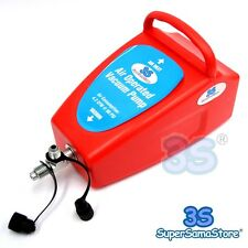 3S Pneumatic 4 CFM Air Operated Vacuum Pump AC Air Conditioning System Tool Auto