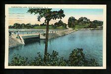 New Jersey NJ postcard New Brunswick, Farrington Lake Vintage Tichnor