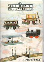 LANKES Auktionshaus - Heft Katalog Spielzeug Auktion September 2008 - B15323