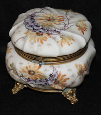 Antique Wave Crest Jewel Box with Ormolu Mounts Wavecrest