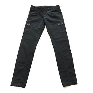Athleta Nopa Women Pants Size 8 Cargo Pockets Black 32x32