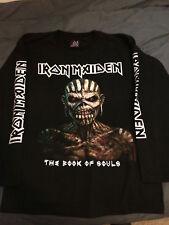 IRON MAIDEN Book Of Souls Longsleeve SHIRT Slayer Metallica Judas Priest