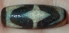 32.5mm old Tibetan, Tibet worry agate Amulet Pendant Bead, #S2323