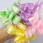 New Pull Flower Gift Wrap Lace Bow Wedding Birthday Party Decoration 10 Pcs