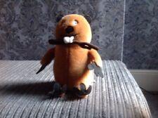 Fantastic Soft Toy Beaver, Hatley By Aurora World.