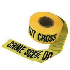 CRIME SCENE tape - police cop fbi cia csi firefighter