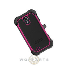Ballistic SG MAXX Case-Samsung i9500 Galaxy S4 Black/Hot Pink Case Cover Shield