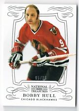 2013-14 National Treasures Silver Parallel #59 Bobby Hull 05/25 !!