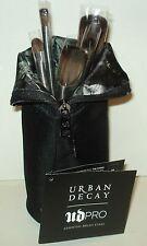Urban Decay UD PRO Essential Brush Stash 5 piece Brush Set & Stash Bag - New