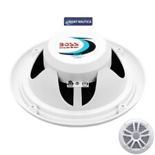 COPPIA CASSE MARINE BOSS  MR6W Audio System  Bianca 180 Watts 6.5 BARCA NAUTICA
