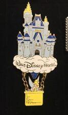 Walt Disney World Tinker Bell In Hot Air Balloon Below Castle 2000 Pin