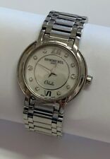 Ladies Raymond Weil Othello Quartz Watch MOP Diamond Dial Stainless Steel Repair