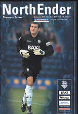 2000/01 PRESTON NORTH END V TRANMERE ROVERS 14-10-2000 Division 1