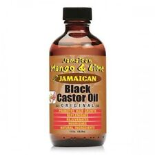 Jamaican Mango & Lime Pure Jamaican Black Castor Oil original(4oz)