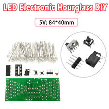 5V Electronic DIY Hourglass Kit Funny Electronic Production Kits with LED New
