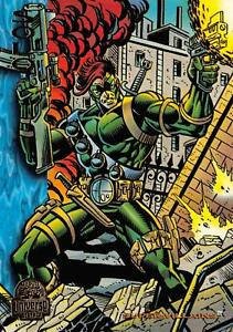 SOLO / Marvel Universe Series 5 (1994) BASE Trading Card #129