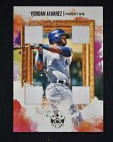 2020 Diamond Kings Quad Materials Relic #DKQ-YA Yordan Alvarez - Houston Astros