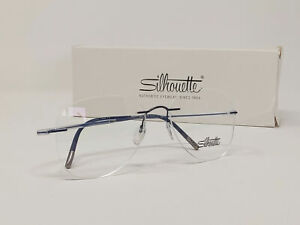 Authentic Silhouette Eyeglasses Essence 5523/DO 4540 Austria Blue 57[]17 150 A&S