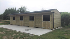 12x48 stable block,  4 stables , equestrian, Field Shelter Stables Horses VA015