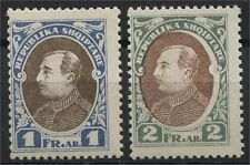 Albania, Two Never Issued Stamps 1925, Mint Never Hinged