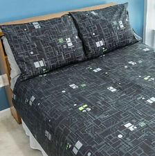 Star Trek The Next Generation Borg Cube Duvet Cover And Pillowcases - Queen