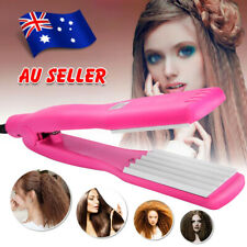 Hair Curler Crimper Ceramic Iron Rollers Curling Anion Wave Wet Dry Wand AU