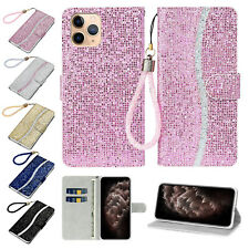 Girl Bling Leather Flip Wallet Case Cover For iPhone 11 Pro/XS Max/XR/X/7 8 Plus