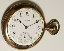 Swing Out Gold Filled Case A Antique Waltham Pocket Watch Open Face