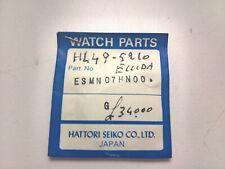 RARE SEIKO SAPPHIRE GLASS esmn 07hn00 for h449-5210 and other - 100% Genuine