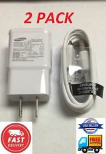 2 Pack OEM Samsung Note 4 S6 S7 Edge Adaptive Fast Rapid Charger EP-TA20JWE New