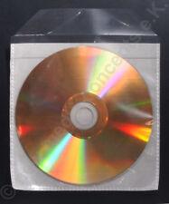 GOLD CD Rohlinge , 24 ct Beschichtung,PPKlarsichtaschen zum archivieren 10 Stück
