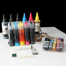 CISS CIS 273 273XL & Extra 600ml Ink For EPSON Expression XP-600 XP-610 XP-800