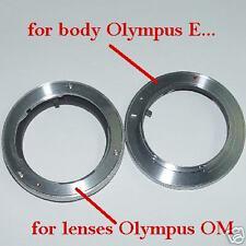 Adattatore Adapter lens  Olympus OM a corpo Olympus 4/3 ID 2522