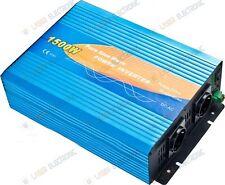 INVERTER ONDA SINUSOIDALE PURA 1500W con REMOTE CONTROL 12VDC > 230VAC