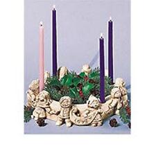 """Children of the World"" Advent Wreath Wreath Candleholder Centerpiece"