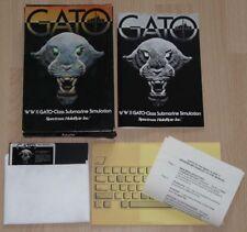 2 Apple: Gato-Spectrum HoloByte Inc. 1983
