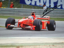 Mika Salo , 12x8 SIGNED F1 Ferrari F399 , Austrian GP ,A1-Ring 1999