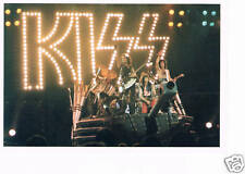 THREE for PRICE of ONE > KISS HIGH QUALITY GLOSS POSTCARD, FREEpp>MINT CONDITION