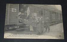 CPA 1914 GUERRE 14-18 PATRIOTIQUE INFIRMIERS FRANCAIS EVACUENT UN BLESSE 2