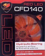 Cougar CFD CF‑D14HB‑R Red LED Case Fan