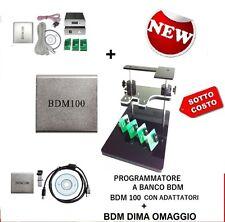 DIMA + BDM +4 SCHEDINI A MOLLA + BDM100 PROGRAMMATORE BANCO CENTRALINE RIMAPPAT
