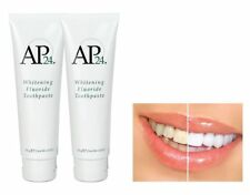 2X Nu Skin AP-24 NuSkin AP24 Whitening Fluoride Toothpaste Authentic 110g 4oz