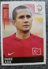 Panini SB EMRE Asik TUR Football Em 08 no 133 RARE!