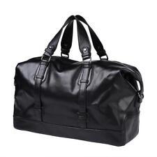 Genuine Leather Luggage Bag Travel Duffle Handbag Large Vintage Classic Fashion