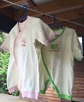 2PCS Boys Girls kids Baby Cotton Frog Pig Bodysuit Romper 00