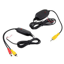 12V 2.4G Wireless Transmitter&Receiver Car Reverse Rear View Backup Camera