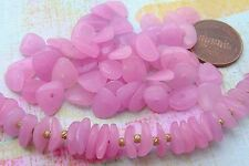 Vintage Rare Myiuki Kernel Pink Glass Beads Japan 50