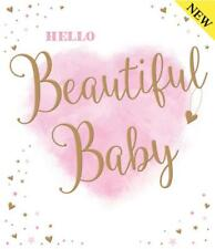 Hello Beautiful Baby Girl Colour Me Happy Design Good Quality Card Lovely Verse